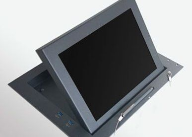 Albiral ALB12WMFH Folding Monitor with Horizontal Movement